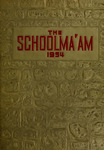 1954 Schoolma'am by Madison College
