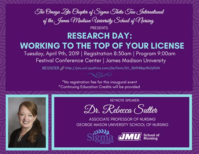 Omega Zeta Chapter of STTI Research Day