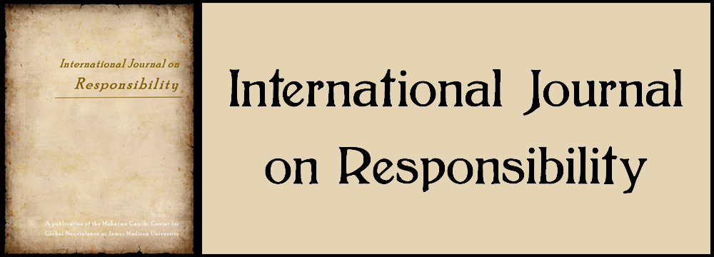 International Journal on Responsibility