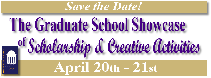 Graduate Showcase of Scholarship and Creative Activities