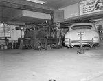 Inside of Bushong Garage, New Market, Va. by William Garber