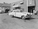 1950 Studebaker outside of Heishman's Garage.