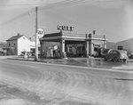 Gulf Gas Station.