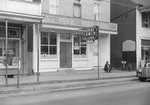 Quedens Lunch Billiards, New Market, Va. Diagonal view from the street. by William Garber