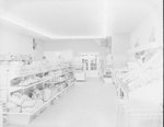 "Inside of Mick or Mack ""Cash Talk,"" view of empty store. by William Garber"