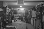 General view of the interior of Hodgin's Store. by William Garber