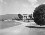 The Shenvalee Hotel and Golf Resort, front view. New Market, Va. by William Garber