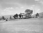 The Shenvalee Hotel and Golf Resort, diagonal view of the front, New Market, Va. by William Garber