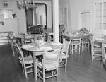 Inside the Lee-Jackson Hotel, alternate view of the dining area. New Market, Va. by William Garber