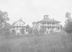 Shenandoah Alum Springs Hotel, view of two of the buildings. Orkney Springs, Va. by William Garber