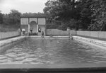 An alternate view of the swimming pool at the Shenandoah Alum Springs Hotel. Orkney Springs, Va. by William Garber