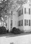 Wissler House, view of front porch from the side. by William Garber