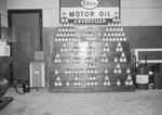 Esso Motor Oil display by William Garber