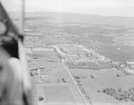 Distant view of the Shenandoah County Fairgrounds, Woodstock, Va. by William Garber