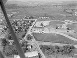 Memorial Hall of JMU, or Old Harrisonburg High School. Harrisonburg, Va. by William Garber