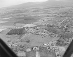 Houses and farmland near Luray, Va. by William Garber