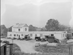 Showalter Mill, alternate view with close-up of the parking lot. Broadway, Va. by William Garber