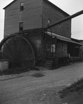 Mt. Jackson Mill, view from the side, photo taken vertically, Mt. Jackson, Va. by William Garber