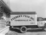 Company truck for Feeder's Feed, Inc. Side view
