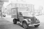 Armour company truck, front diagonal view by William Garber