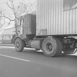 """Side view of a company truck for """"Smith's"""" by William Garber"""