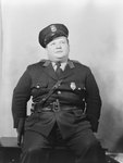 Portrait of police officer Charley Grabill, alternate pose by William Garber