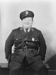 Portrait of police officer Charley Grabill by William Garber