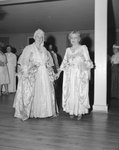 Spanish War Veterans Reunion, Orkney Springs Hotel; two elaborately dressed elderly women