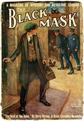 """The Black Mask"" July, 1922"