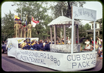 Cub Scout Float with 'Spring House'