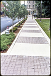 Untitled (Court Square sidewalk) by James Madison University