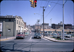 W. Water St. seen from Liberty St.-before parking deck was built by James Madison University