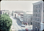 View of E. Market from 5th floor of 57 S. Main St. by James Madison University