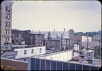 View of rooftops, behind East Market and east Court Square