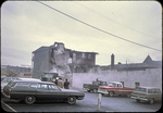 Demolition of old Warren Hotel on North Court Square by James Madison University