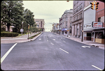 Looking north on Main St. at Court Square by James Madison University