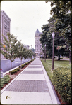 Harrionburg's new brick walks in Downtown by James Madison University