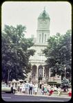 Harrisonburg Bicentennial (People waiting for Bus Tour)