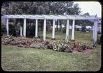 Flower garden at Recreation Center