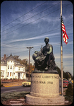 Peace Monument at S. Main and S. Liberty by James Madison University