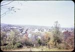View of Harrisonburg from Ott St.