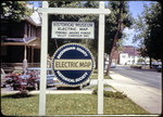 Electric Map sign (Rockingham County Historical Society)