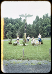 Hillandale Park Totem Pole by James Madison University