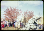 Veterans' Groups at the WWI Cannon near H.H.S. by James Madison University