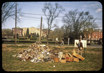 EMC - pile of rubble on Earth Day by James Madison University