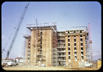 Hi-rise dorm under construction at Madison by James Madison University