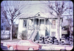 Trees on front porch and yard, N. Liberty St. by James Madison University