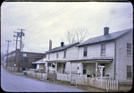 Frame houses on E. Elizabeth near Metro by James Madison University