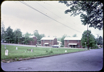 Harrisonburg public housing on Sterling St., facing Newtown Cemetery by James Madison University