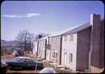 Devonshire townhouses east of Harrisonburg, Port Rd under construction by James Madison University